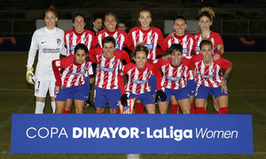 Temp. 17-18 | Atlético de Madrid Femenino - Santa Fe | Once