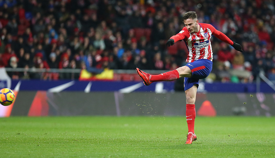 Temp. 17-18 | Atlético de Madrid - Valencia | Saúl