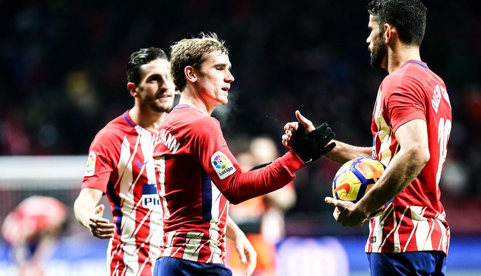temporada 17/18. Partido Wanda Metropolitano. Atlético Valencia. La otra mirada. Ángel