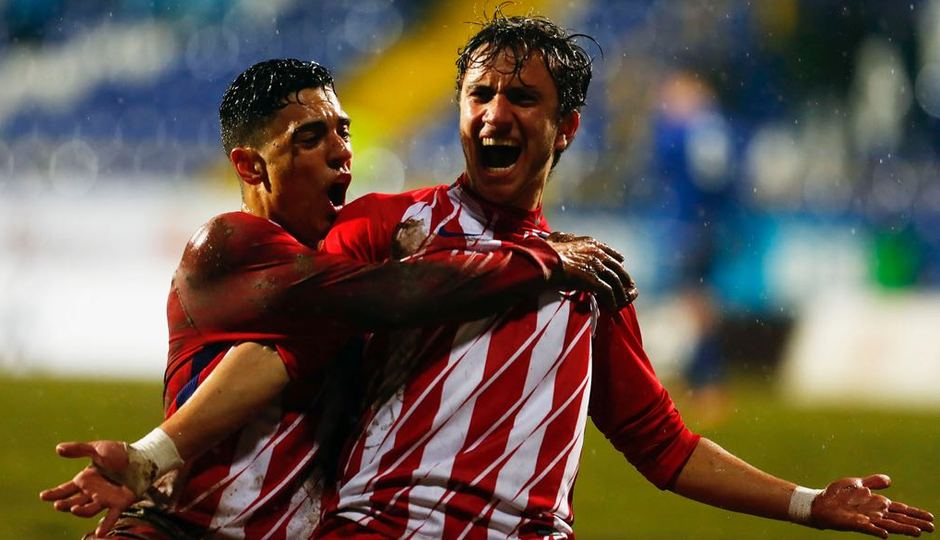 Temp. 17-18 | Youth League | FK Željezničar - Juvenil A | Agüero