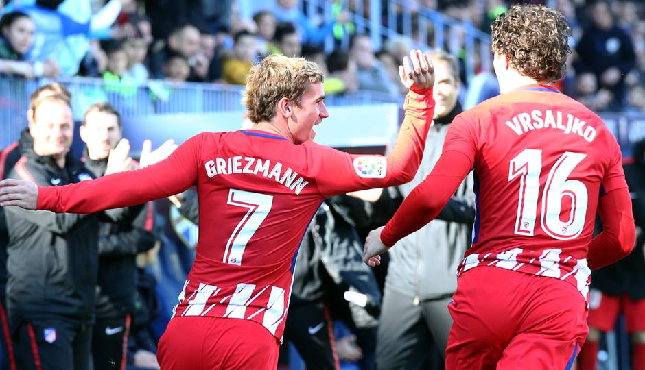 Temp. 17-18 | Málaga - Atlético de Madrid | Griezmann