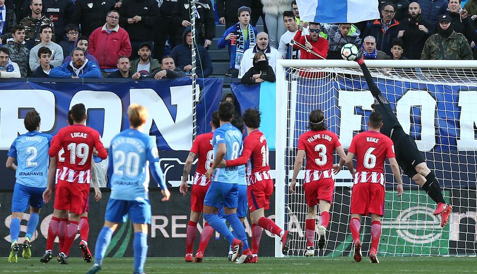 Temp. 17-18 | Málaga - Atlético de Madrid | Oblak