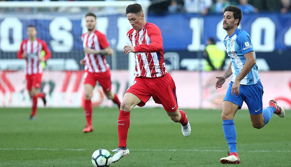 Temp. 17-18 | Málaga - Atlético de Madrid | Torres