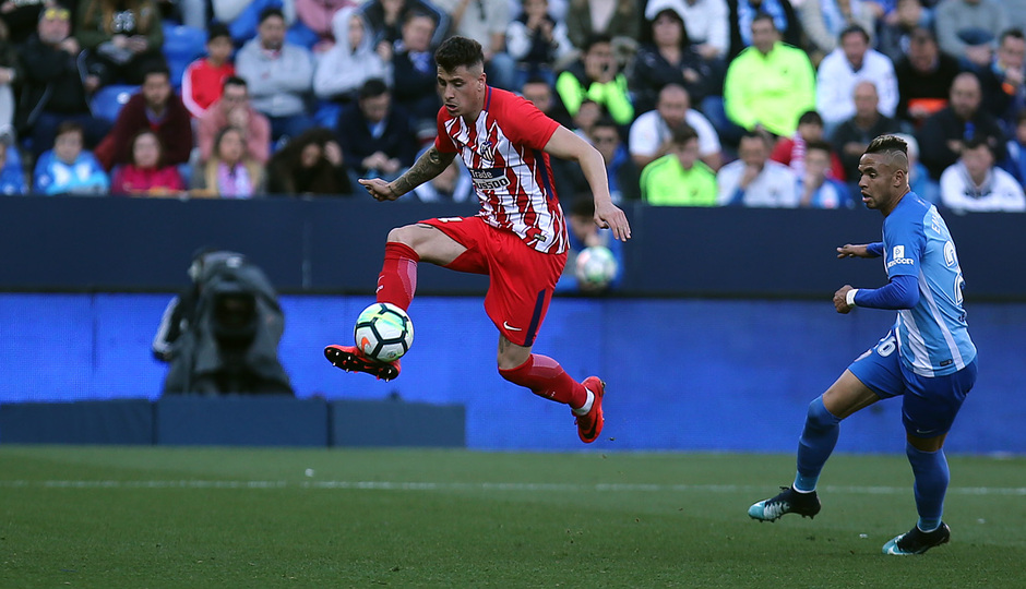 Temp. 17-18 | Málaga - Atlético de Madrid | Giménez