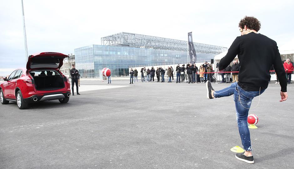 temporada 17/18. Acto Alfa Romeo Wanda Metropolitano. Vrsaljko