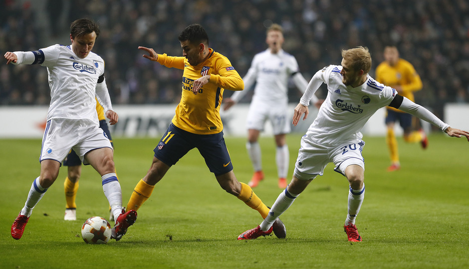 Europa League | Copenhague - Atleti - Correa