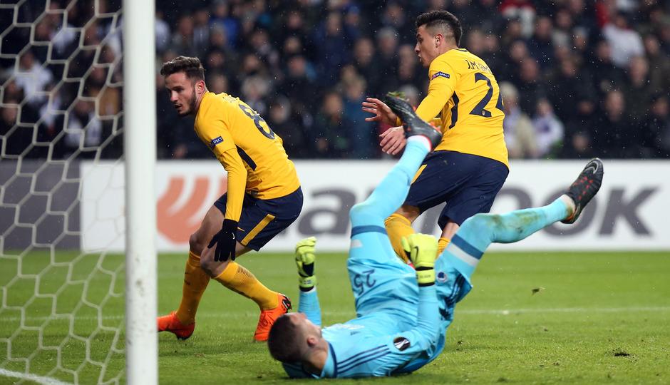 Europa League | Copenhague - Atleti - Gol de Saúl