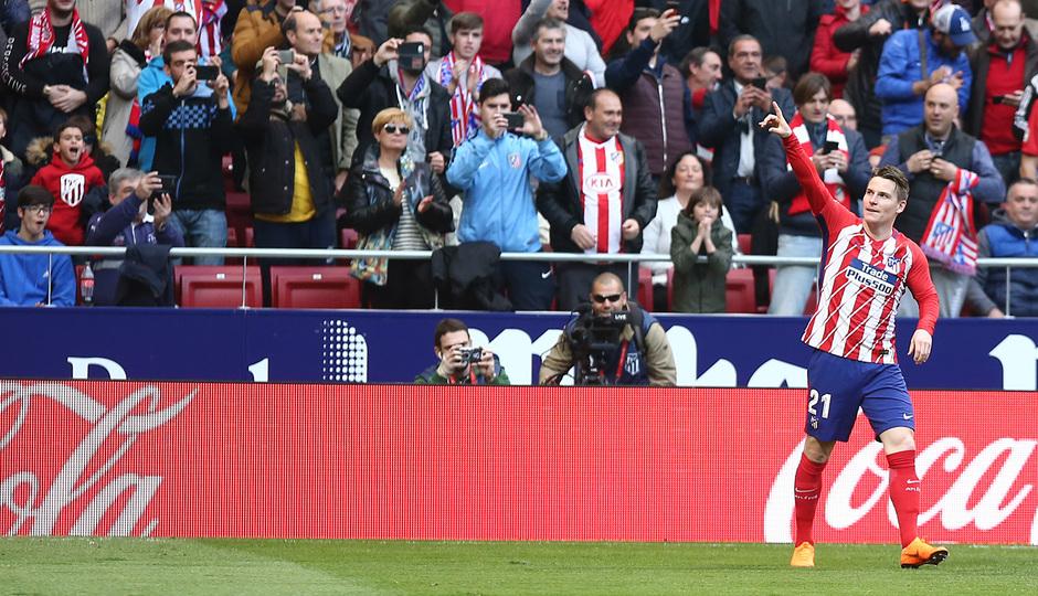 Jornada 24 | Atleti - Athletic | Gameiro dedo en alto
