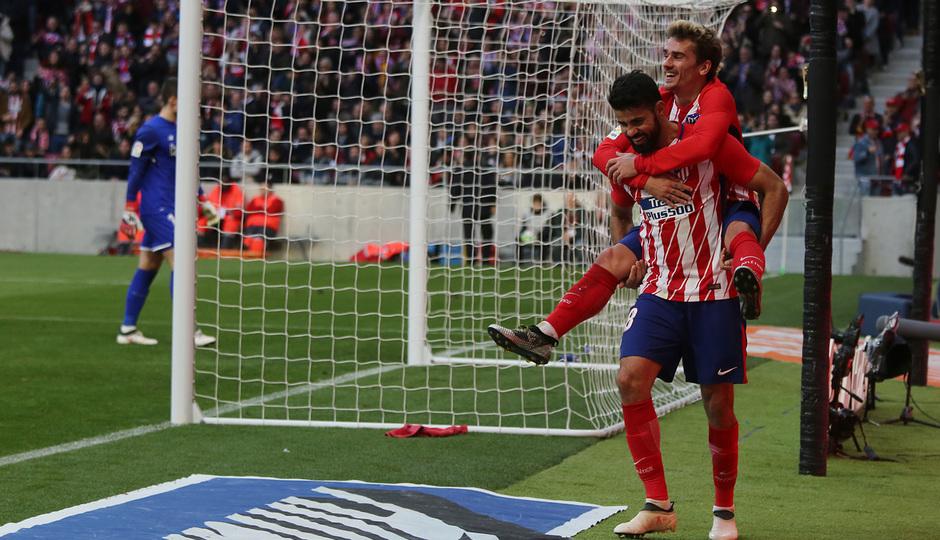 Jornada 24 | Atleti - Athletic | Diego Costa y Griezmann