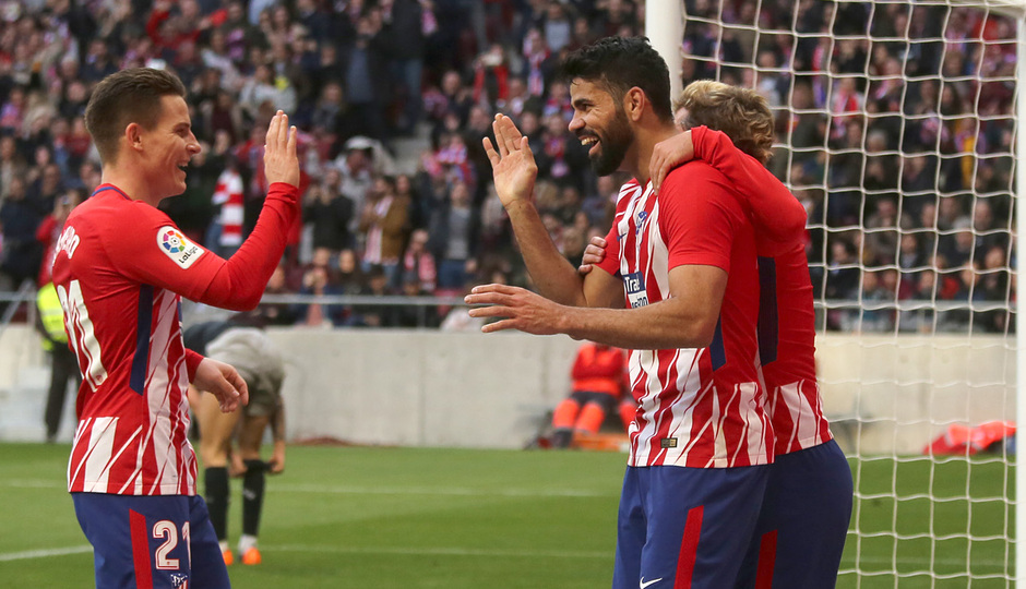 Jornada 24 | Atleti - Athletic | Diego Costa y Gameiro