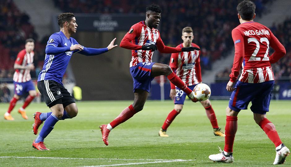 Europa League | Atleti - Copenhague | Wanda Metropolitano | Thomas