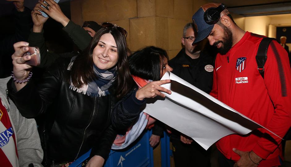 Llegada a Sevilla | Jornada 25 | 24-02-18 | Costa