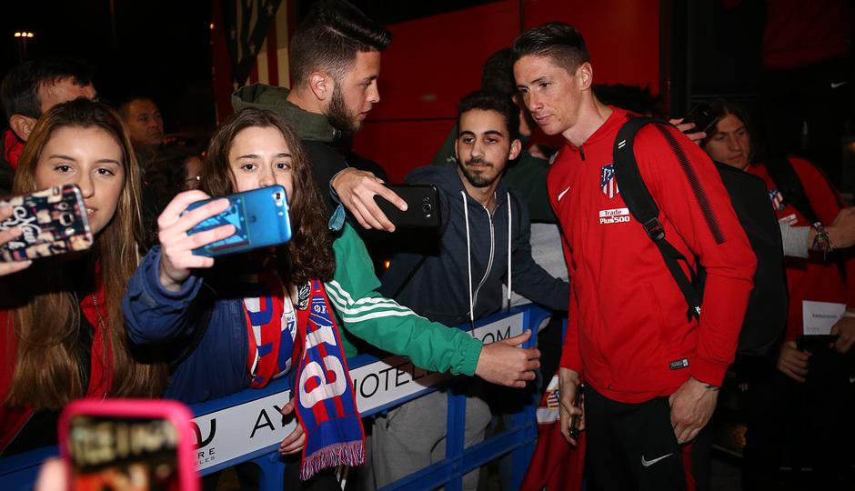 Llegada a Sevilla | Jornada 25 | 24-02-18 | Torres