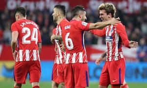 Jornada 25 | 25-02-18 | Sevilla - Atleti | Griezmann y Koke