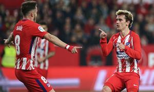 Jornada 25 | 25-02-18 | Sevilla - Atleti | Griezmann y Saúl