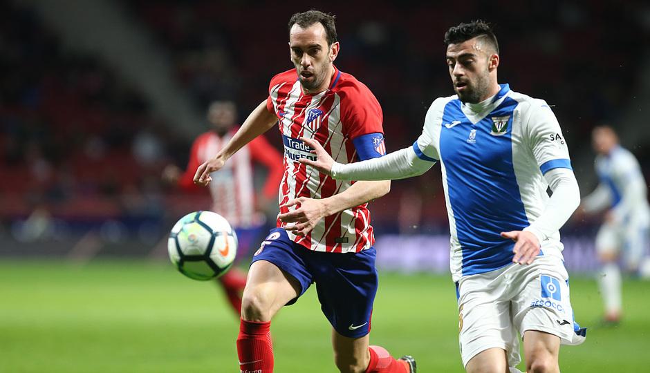 Jornada 26 | Atleti - Leganés |Godín