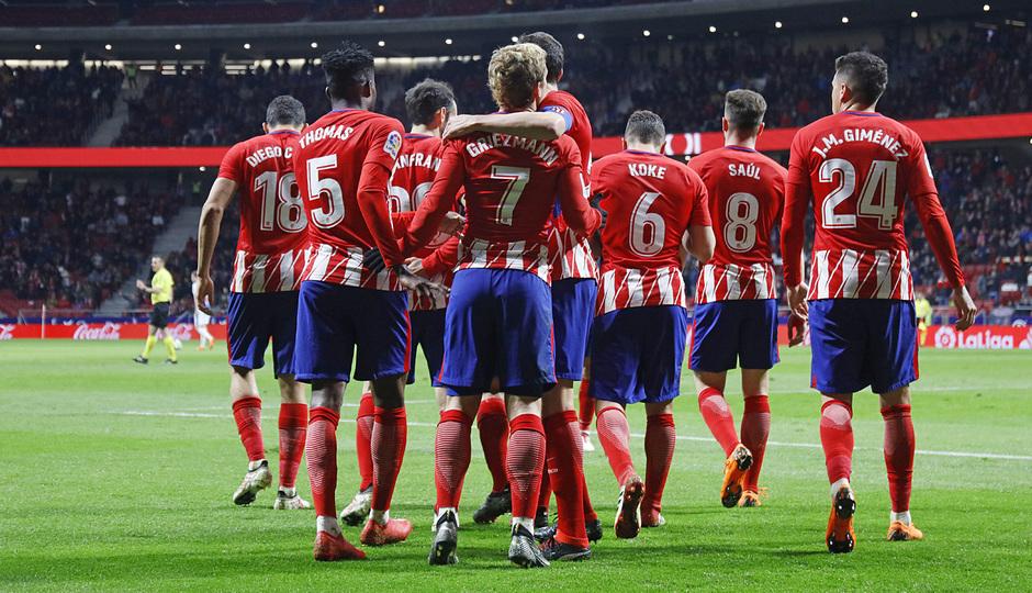 Jornada 26 | Atleti - Leganés | Celebración