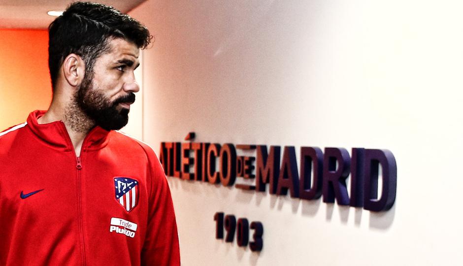 Temporada 17/18 | Atlético - Leganés | La otra mirada | Diego Costa (Ángel)