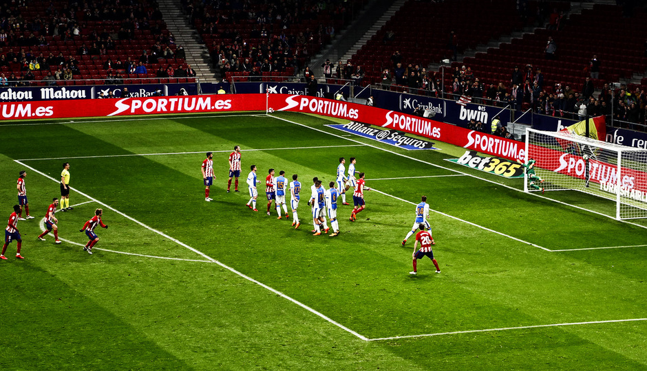 Temporada 17/18 | Atlético - Leganés | La otra mirada | (Álex)