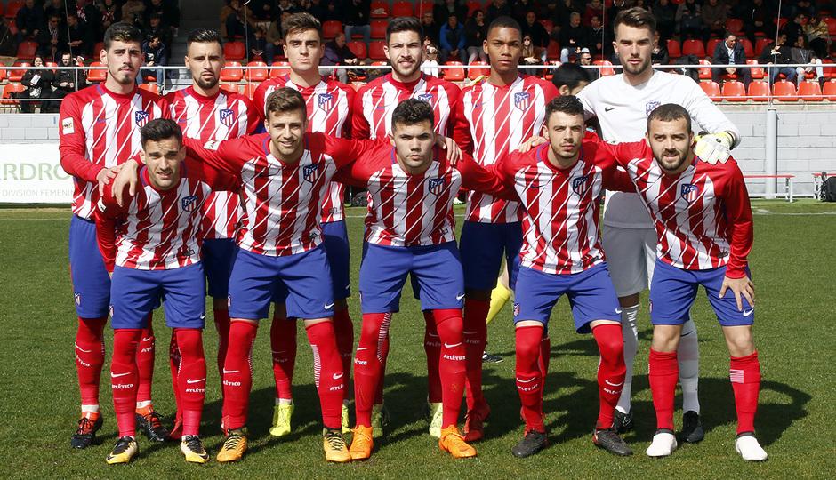 Temp. 17-18 | Atlético de Madrid B - Sanse | Once