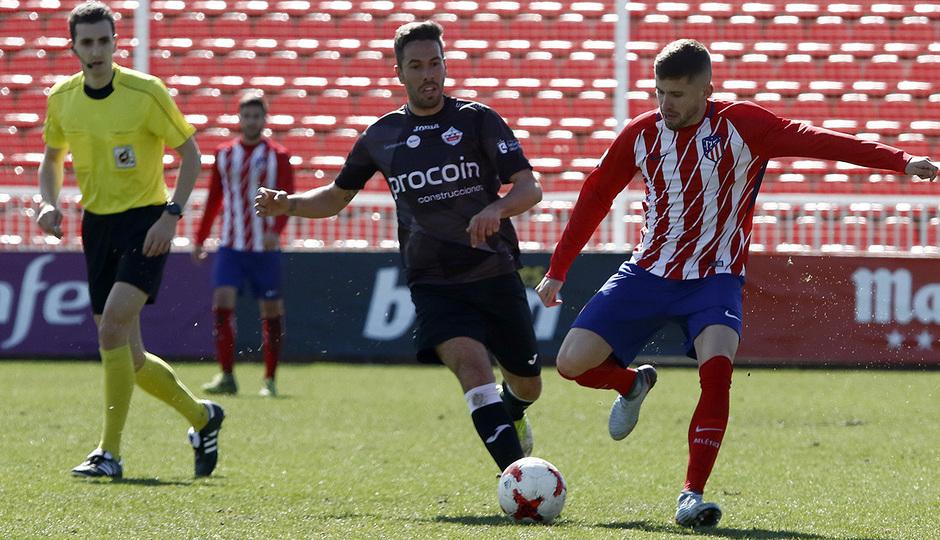Temp. 17-18 | Atlético de Madrid B - Sanse | Caio
