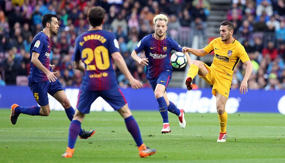 Temporada 2017-18 | Barcelona -Atlético de Madrid | Koke