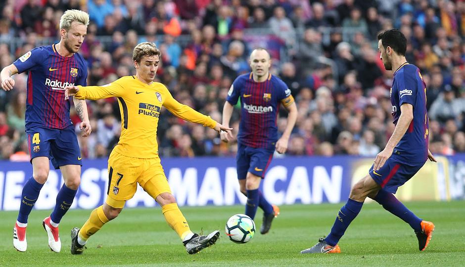 Temporada 2017-18 | Barcelona -Atlético de Madrid | Griezmann