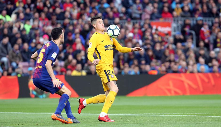 Temporada 2017-18 | Barcelona -Atlético de Madrid | Giménez