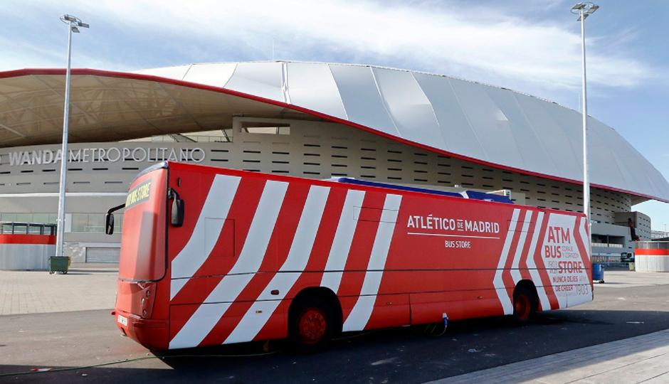 Atlético de Madrid Bus Store