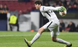 Temp. 17/18 | Ida de octavos | 08/03/18 | Atlético de Madrid - Lokomotiv | Werner