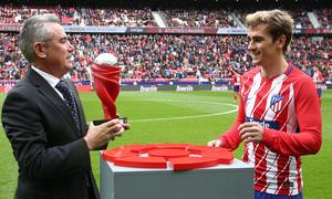 Temp. 17/18 | Jornada 28 | 11/03/18 | Atlético de Madrid - Celta | Griezmann MVP Febrero junto a Manolo