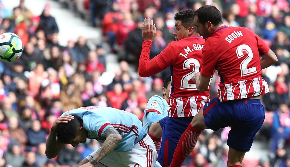 Temp. 17/18 | Jornada 28 | 11/03/18 | Atlético de Madrid - Celta | Godín