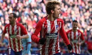 Temp. 17/18 | Jornada 28 | 11/03/18 | Atlético de Madrid - Celta | Griezmann