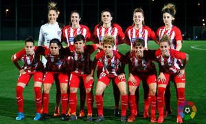Temp. 17/18 | Jornada 22 | Barcelona - Atlético de Madrid Femenino | Once