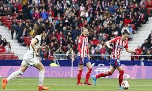 Temporada 17/18 | Estreno del femenino en el Wanda Metropolitano | 17/03/2018 | Atleti - Madrid CFF | Aurelie Kaci