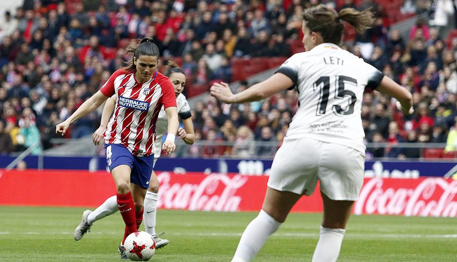 Temporada 17/18 | Estreno del femenino en el Wanda Metropolitano | 17/03/2018 | Atleti - Madrid CFF | Pereira