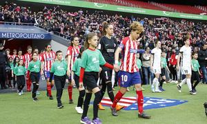Temporada 17/18 | Estreno del femenino en el Wanda Metropolitano | 17/03/2018 | Atleti - Madrid CFF | salida