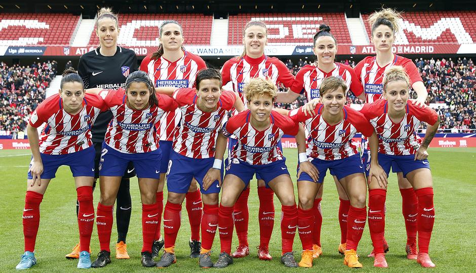 Temporada 17/18 | Estreno del femenino en el Wanda Metropolitano | 17/03/2018 | Atleti - Madrid CFF | Once