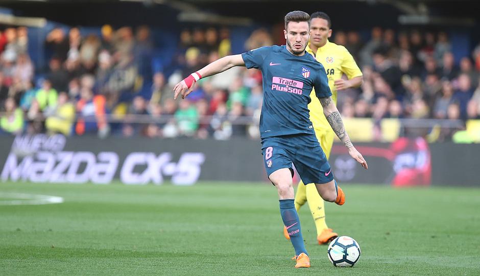 Temp. 17/18 | Jornada 29 | Villarreal - Atleti | Saúl