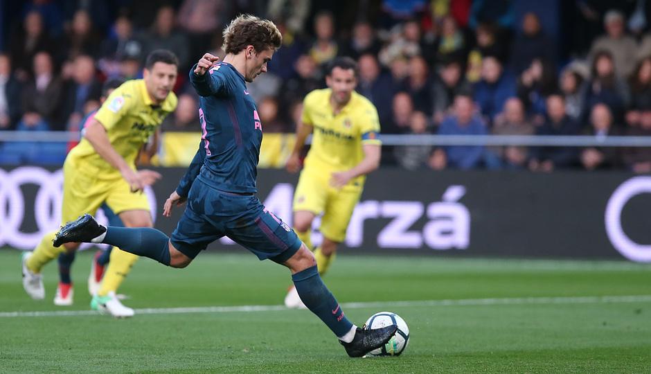 Temp. 17/18 | Jornada 29 | Villarreal - Atleti | Griezmann penalti y gol