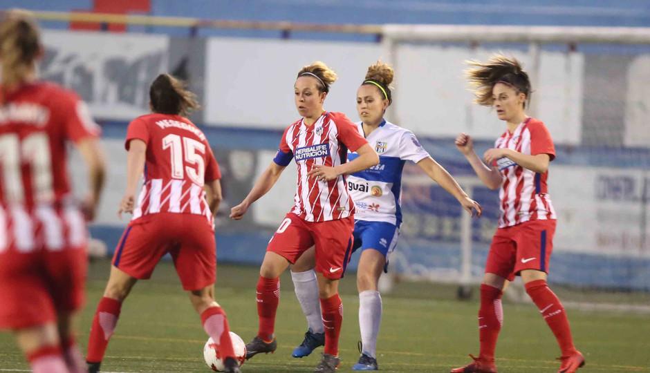 Temp. 17/18 | Atlético de Madrid Femenino | 24-03-18 | Jornada 24 | Amanda Sampedro