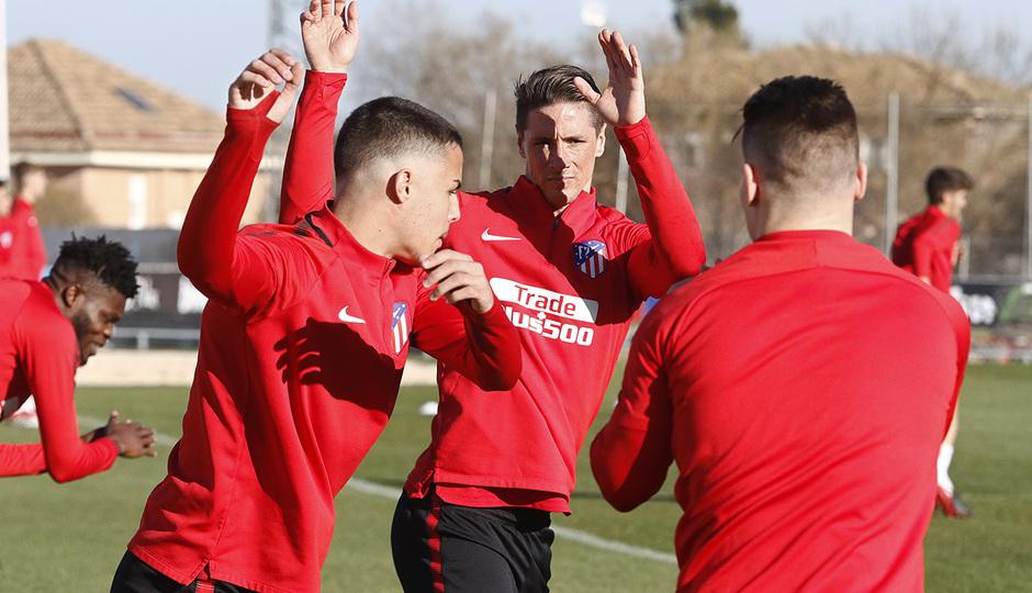 Temp. 17-18 | Entrenamiento primer equipo | 27-03-18 | Torres