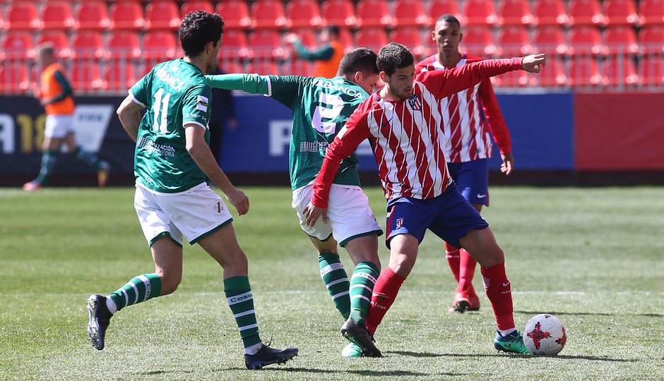 Temp. 17/18 | Atlético de Madrid B - Coruxo | Olabe