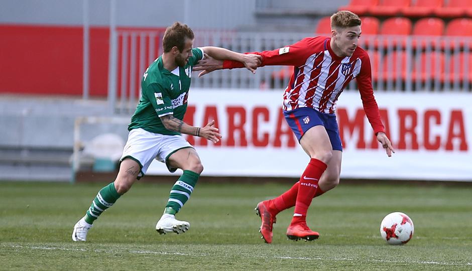 Temp. 17/18 | Atlético de Madrid B - Coruxo | Adrián