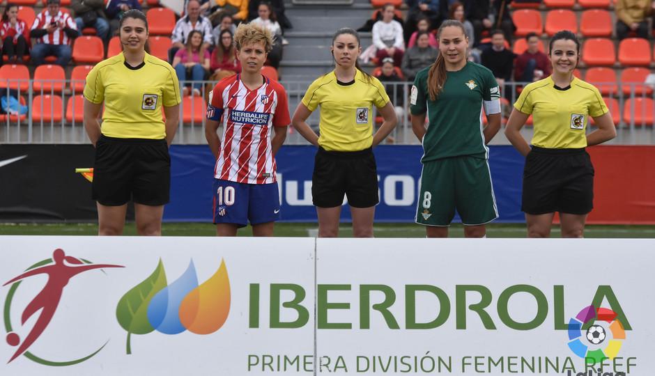 Temp. 17/18 | Atlético de Madrid Femenino - Betis | 01-04-18 | Jornada 25 | Inicio con Amanda Sampedro