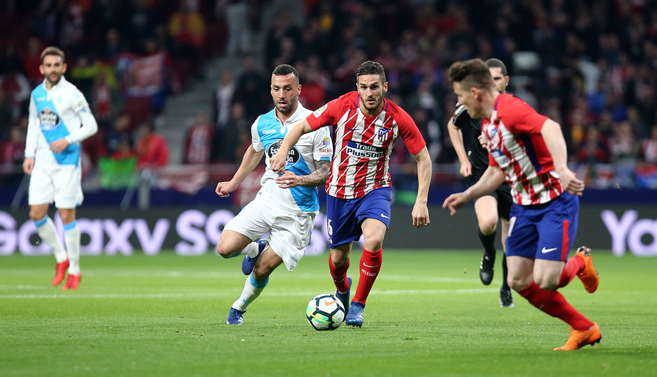 Temp. 17/18 | Atlético de Madrid - Deportivo de La Coruña | 01-04-18 | Jornada 30 | Koke