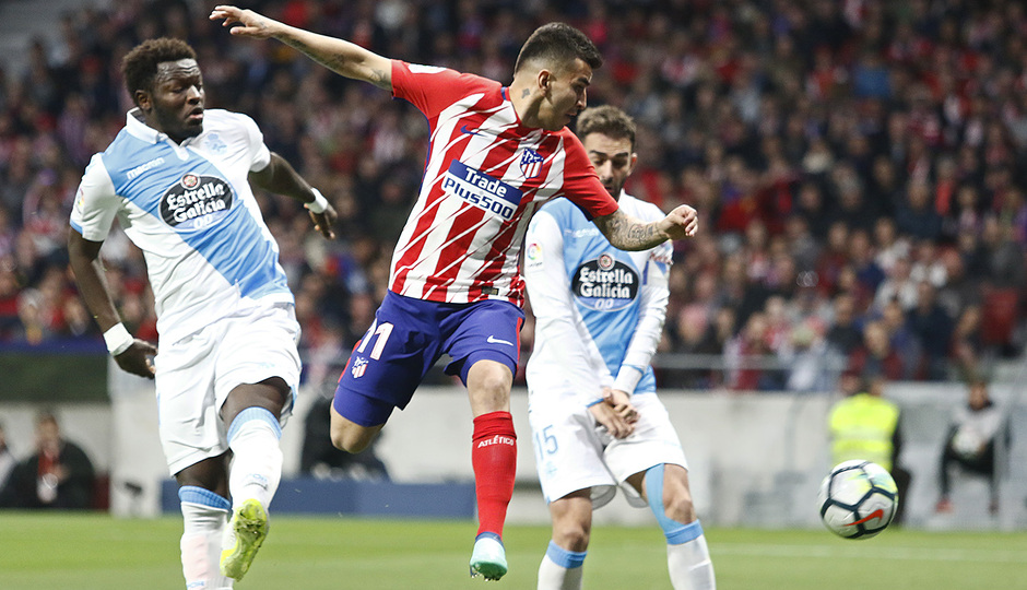 Temp. 17/18 | Atlético de Madrid - Deportivo de La Coruña | 01-04-18 | Jornada 30 | Correa
