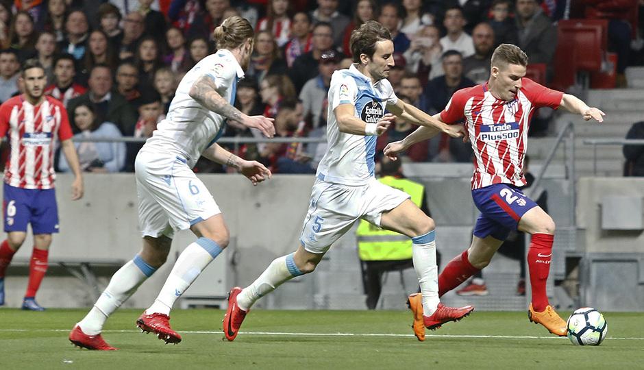 Temp. 17/18 | Atlético de Madrid - Deportivo de La Coruña | 01-04-18 | Jornada 30 | Gameiro