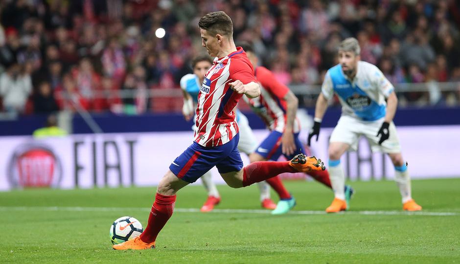 Temp. 17/18 | Atlético de Madrid - Deportivo de La Coruña | 01-04-18 | Jornada 30 | Penalti Gameiro