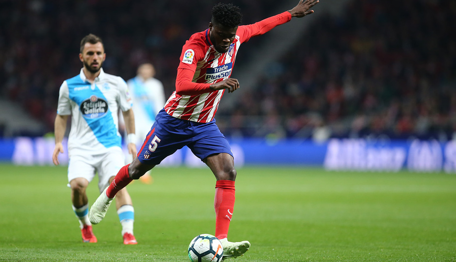 Temp. 17/18 | Atlético de Madrid - Deportivo de La Coruña | 01-04-18 | Jornada 30 | Thomas
